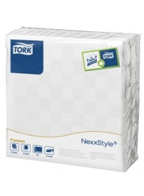 Tork Nexxstyle® fehér Dinner szalvéta