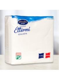 Piszke Papír éttermi szalvéta 600L/csomag, 36 csomag/karton