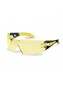 Pheos védőszemüveg fekete/sárga, sárga lencsével SV HC-AF