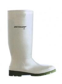 Dunlop Pricemastor fehér 46-os sav és lúgálló PVC csizma