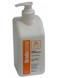 Bradoman soft 500ml pumpás kézfertőtlenítő szer