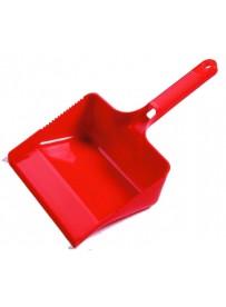 Haug szemeteslapát gumicsík nélkül, piros -6x33x11cm