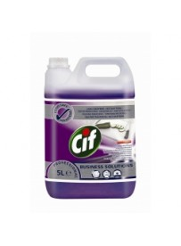 Cif Professional 2in1 Cleaner Disinfectant Conc 5L